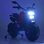 Мотоцикл детский M 4267EL-1-3 белый с красным Гарантия качества Быстрая доставка, фото 6