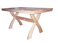 Стол деревянный для беседок и саун  140*75