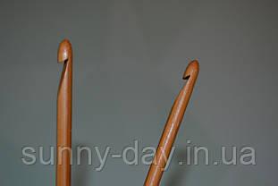 Крючок для вязания бамбуковый, №5,5