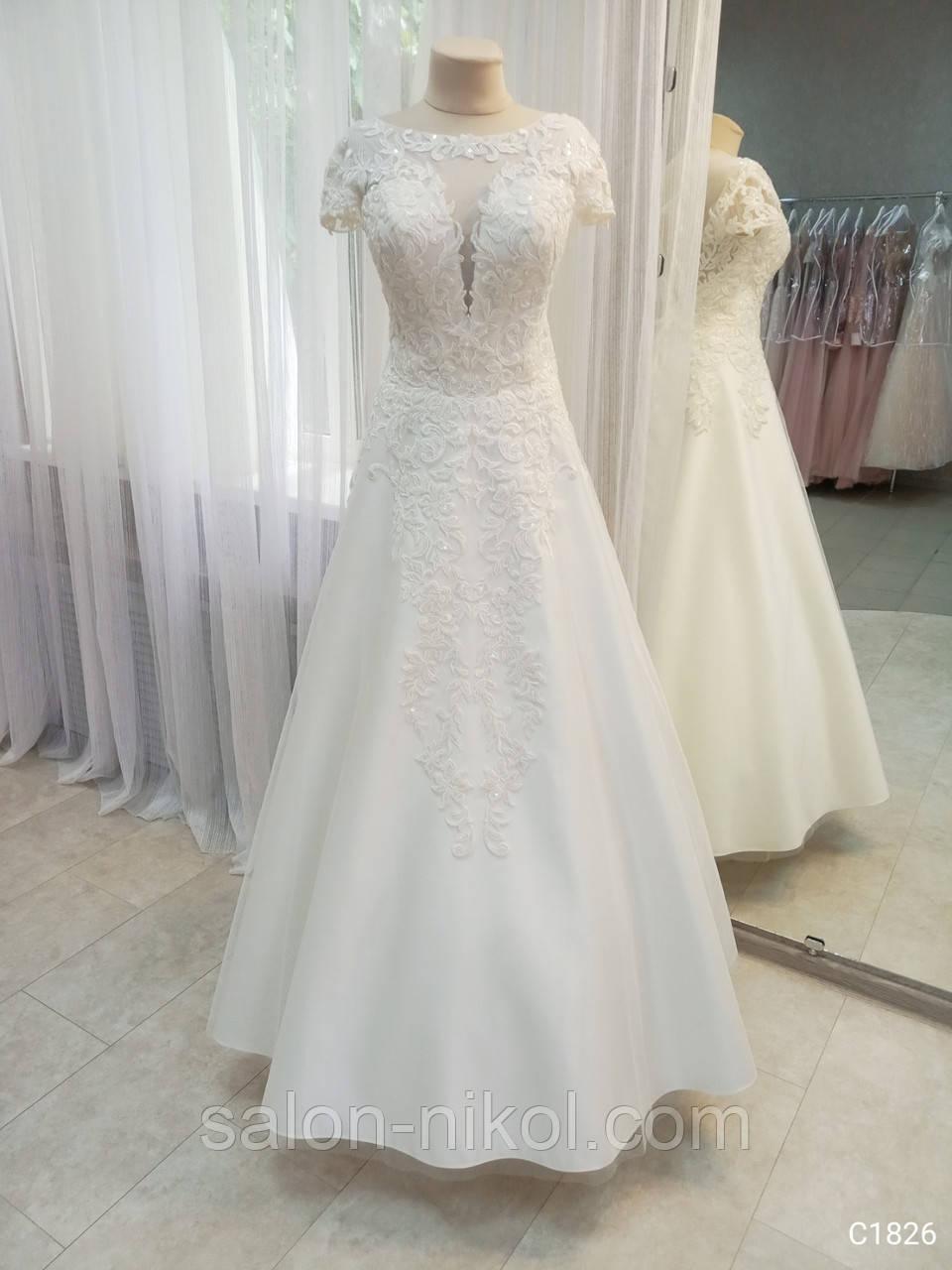 Свадебное платье 1826