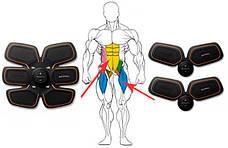 Качественный миостимулятор 3 в 1 для мышц пресса и рук EMS TRAINER, фото 3