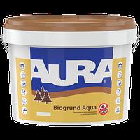 Антисептическая грунтовка для древесины AURA Biogrund Aqua, 9л