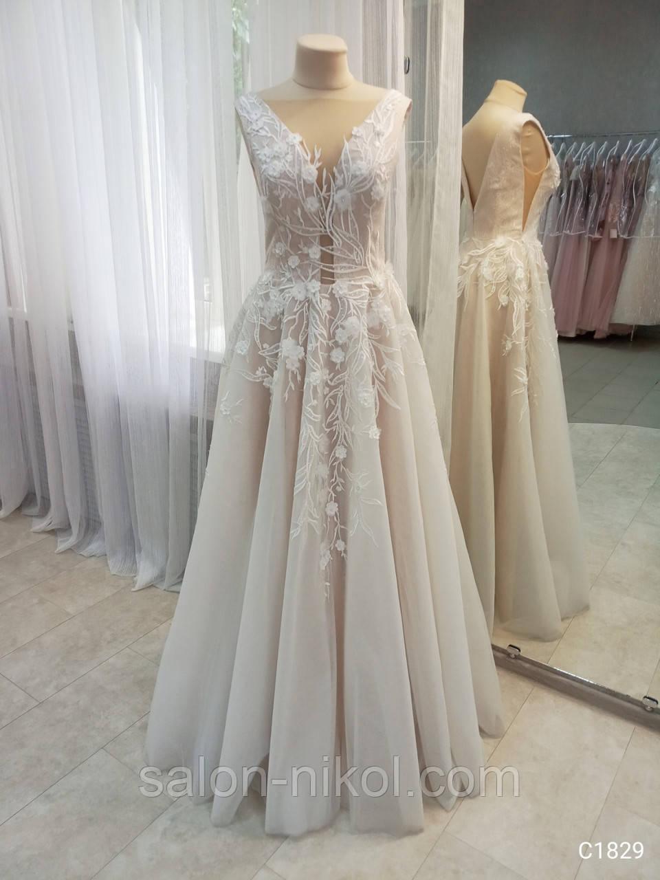 Свадебное платье 1829