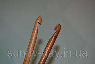 Крючок для вязания бамбуковый, №9