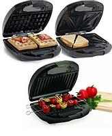 Мультимейкер 3в1 Витек Германия бутербродница, гриль,вафельница Мощная