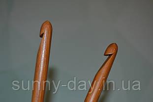 Крючок для вязания бамбуковый, №10