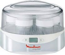 Йогуртница Moulinex YG230131 980 мл на 7 баночек 13 Вт Белый / Серебристый