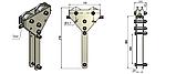 Кабельная каретка ТТП9,8-2 НУ1, фото 2