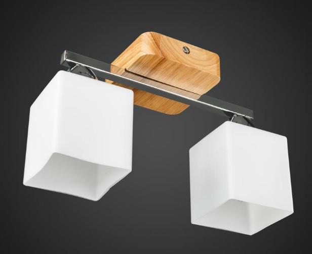 Люстра двойка с квадратными плафонами AR-004867