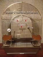 Золотая Клетка для птиц. 35х28х46 см.