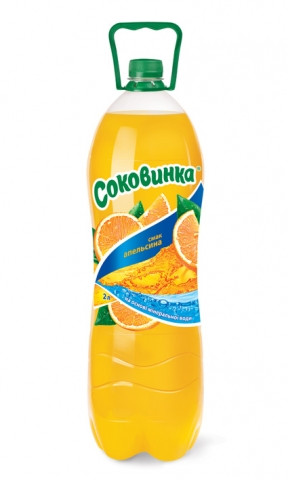 Напій Соковинка 2л Апельсин