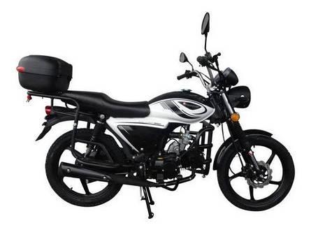 Мотоцикл Forte ALFA NEW FT125-K9A (черный), фото 2