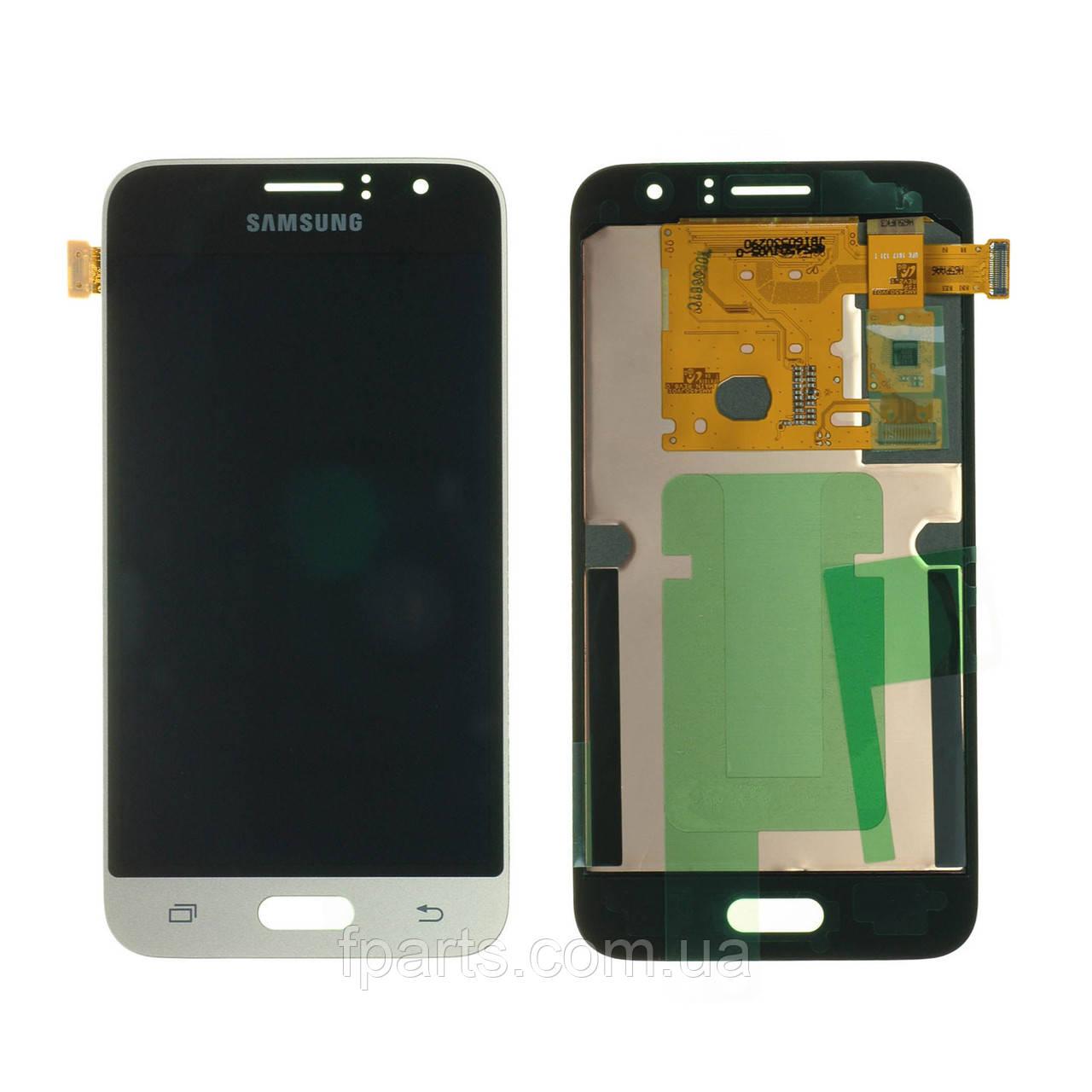Дисплей для Samsung J120 Galaxy J1 2016 с тачскрином, Gold (Service Pack Original)