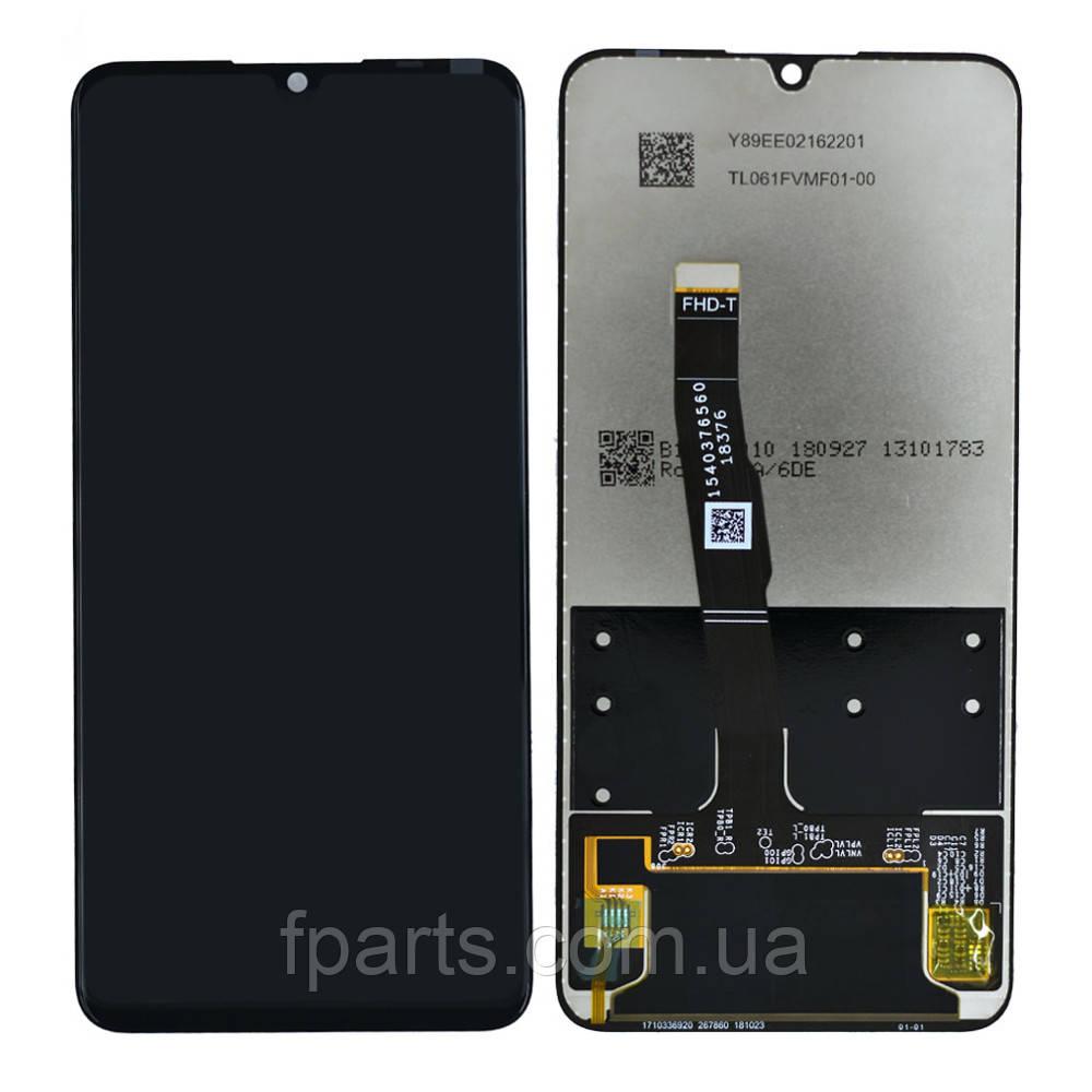 Дисплей для Huawei P30 Lite (MAR-LX1A), Nova 4e с тачскрином, Black (AAA)