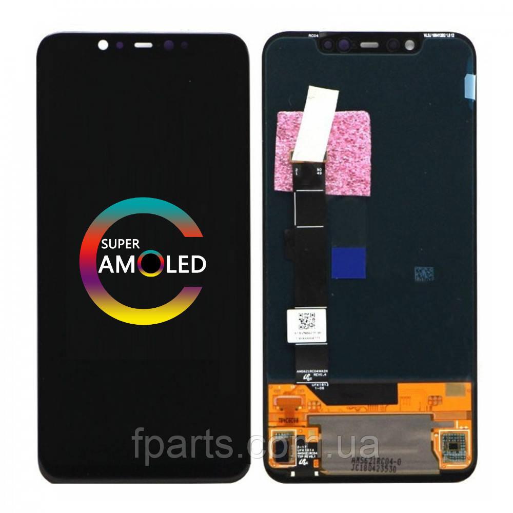 Дисплей для Xiaomi Mi 8 с тачскрином, Black (Original PRC)