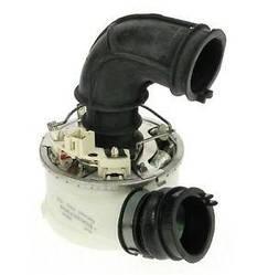 Тен проточний з равликом 1800/1960W для посудомийної машини Ariston, Indesit, Whirlpool C00302489 (160029441)
