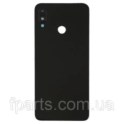 Задняя крышка Huawei P Smart Plus (INE-LX1) с стеклом камеры Black, фото 2