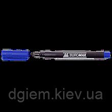 Маркер водостойкий 1мм синий BM.8704-02