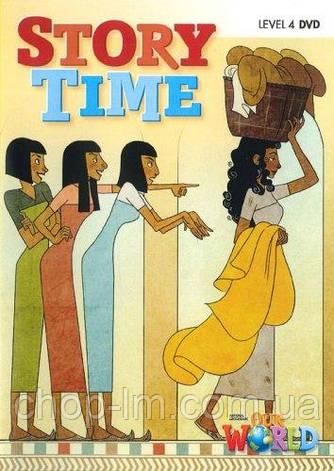 Our World 4 Story Time DVD. Диск с видео-историями для детей / National Geographic Learning, фото 2