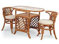 Мебель из ротанга (2 кресла + журнальный стол), фото 1