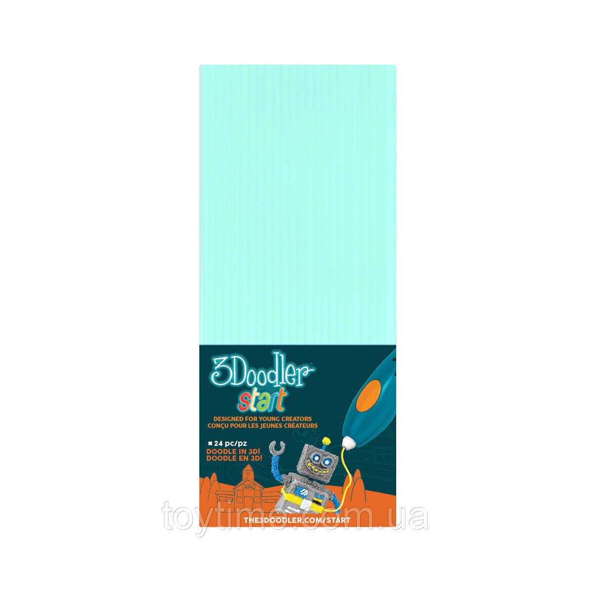 Набор стержней для 3d-ручки 3Doodler Start Мятного цвета / Пластик для 3Д ручки 3Дудлер Старт мятные стержни
