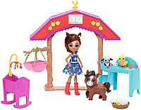 Набор Энчантималс Детский садик для зверушек Enchantimals Barnyard Nursery Playset