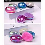 Расческа для волос компактная Tangle, разные цвета, 1 шт, фото 5