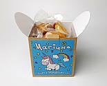"""Печенье """"Магическое"""" с предсказаниями в праздничной упаковке - Печенье с единорогом подарок на день рождение, фото 10"""