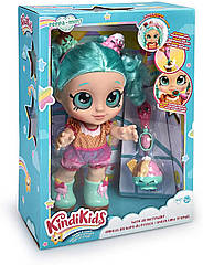 Kindi Kids велика лялька Кінді Кидс Пеппа Мінт Snack Time Friends Peppa Mint