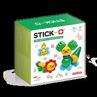 Магнитный конструктор Stick-O Лесные друзья, 16 эл. (902002)