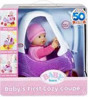Кукла Беби Борн первая машина BABY born Baby's First Cozy Coupe