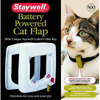 Дверцы Staywell  Програм для котов, белый, 241 х 252 мм