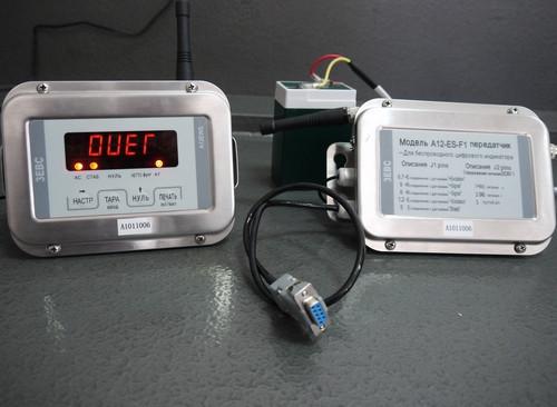 Весовой индикатор с радиоканалом Zemic А12EWS