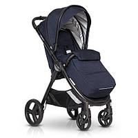 Прогулочная коляска детская с термозащитной тканью EasyGo Canny EGCAN-09, синий