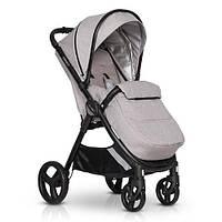 Прогулочная детская коляска с термозащитной тканью EasyGo Canny EGCAN-10, серый