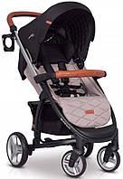 Прогулочная детская коляска с алюминиевой рамой 2 в 1 EasyGo Virage Ecco, серый