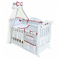 Балдахин для детской кроватки без опоры Twins Premium Starlet, белый
