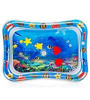 Игровой коврик Tummy Time Water, 7 апгрейдов  Детские надувные игрушки для детей и малышей