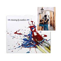 "Картина по номерам Lesko RA-3495 ""Влюблённые"" набор для творчества на холсте 40-50см рисование, фото 3"