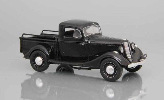 Автолегенды №78 ГАЗ-М415 черный | Коллекционная модель 1:43 | DeAgostini