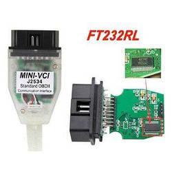 Адаптер диагностический Toyota Mini VCI j2534 TIS Techstream