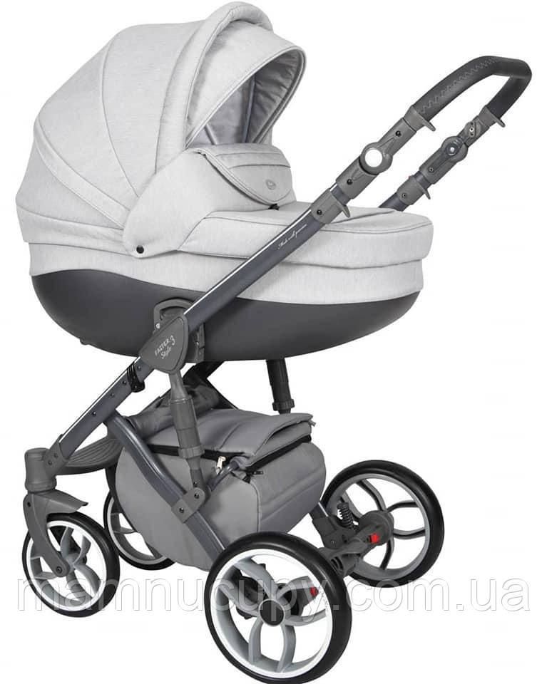 Детская универсальная коляска 2 в 1 Baby Merc Faster Style FIII/102A