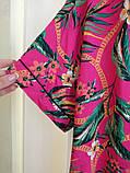 Интересная женская блуза, блузка от Clockhouse C&A, Германия, размер 54-56, розовый цвет, фото 3