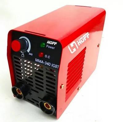 Инверторный сварочный аппарат Hoff MMA-340 MINI GERMANY (Гарантия 60 месяцев)
