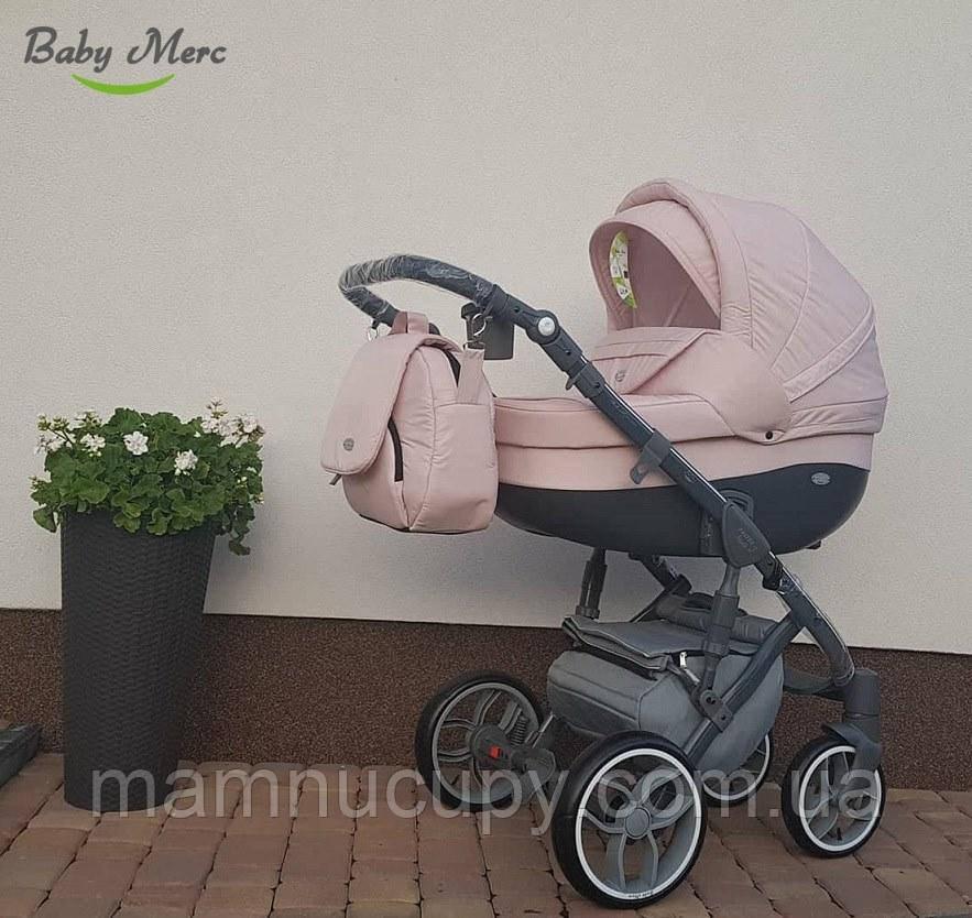 Детская универсальная коляска 2 в 1 Baby Merc Faster Style FIII/91A