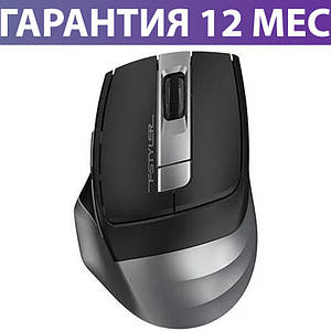 Беспроводная мышка A4Tech Fstyler FG35 2000dpi серая, USB (FG35 Grey), мышь для ноутбука