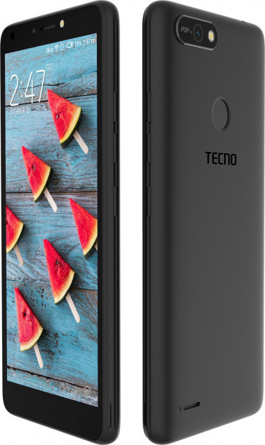 Смартфон Tecno POP 2F (B1f) 1/16GB DualSim Midnight Black