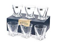 Стаканы для виски Bohemia Quadro 340 мл - 6 шт