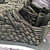 Хакі Зелені шльопанці босоніжки, шльопанці тапки плетінки сандалії літні тапки, фото 6