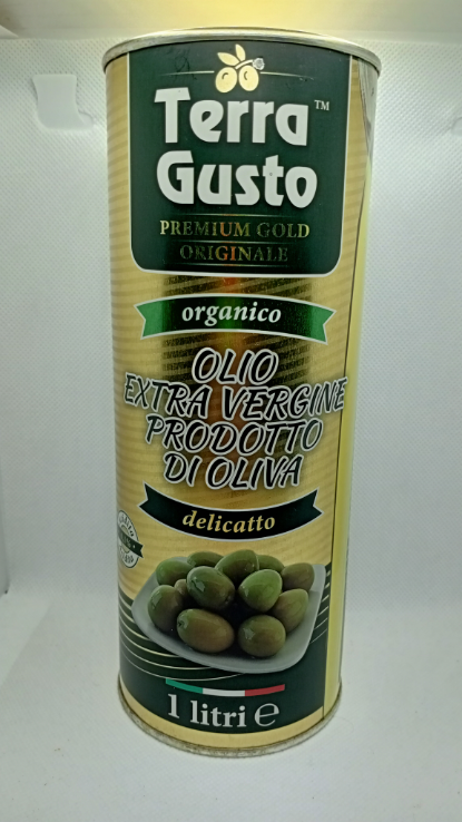 Оливковое масло EXTRA VIRGIN OLIVE OIL Terra Gusto Gold 1 л